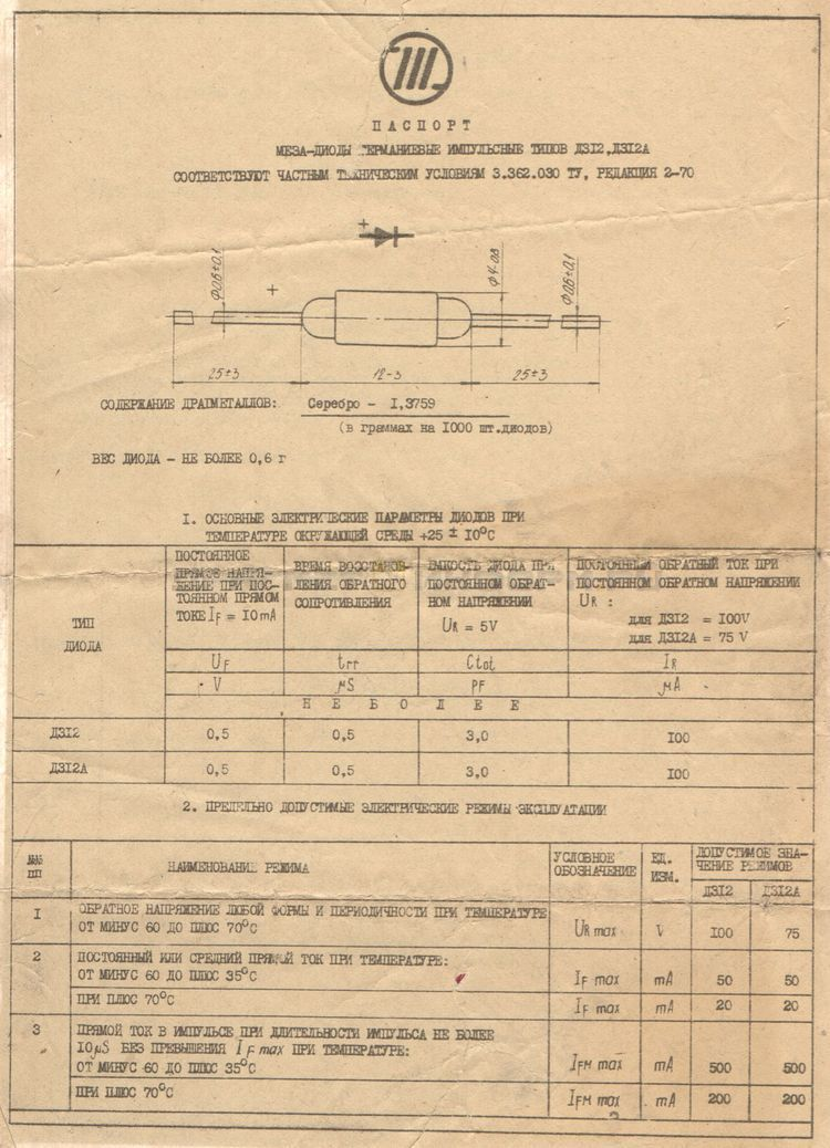 Формуляр Д312А (1)