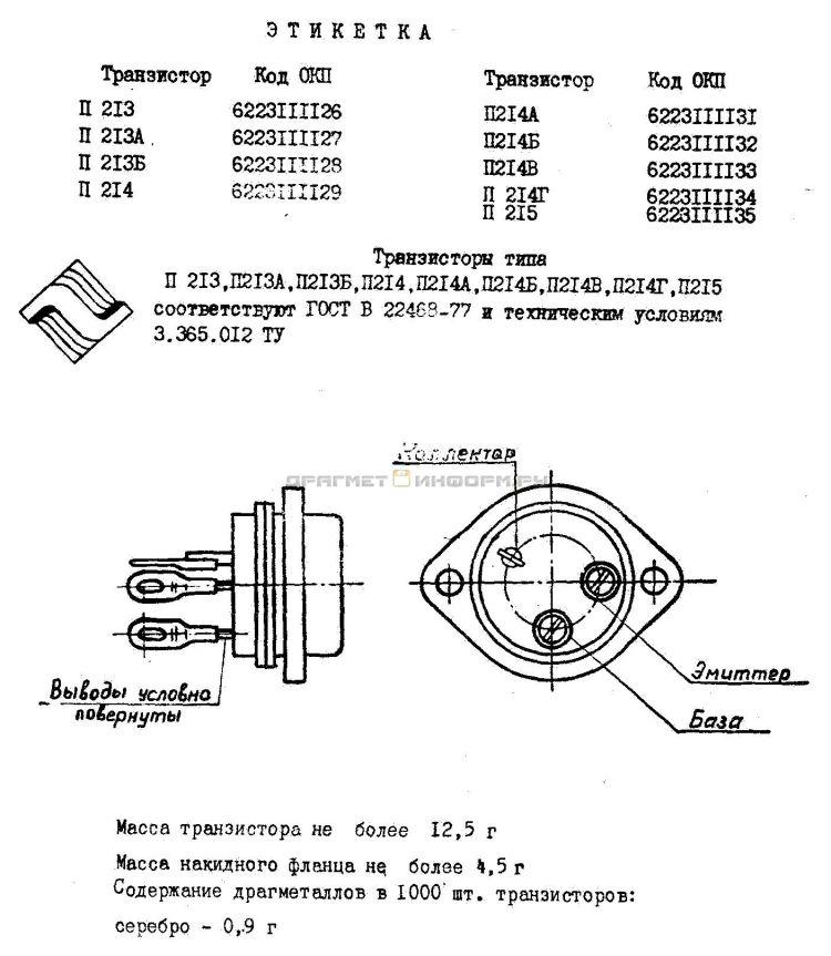 Формуляр П214Б